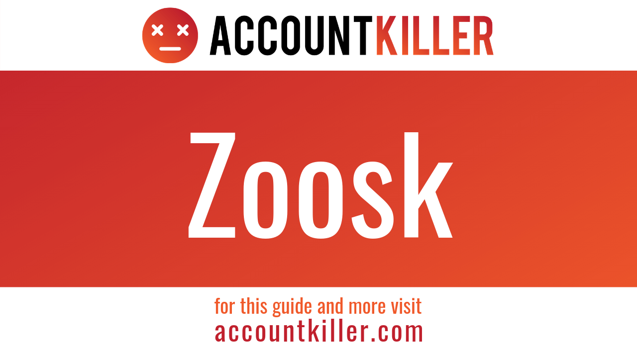 How to delete your Zoosk account - ACCOUNTKILLER COM