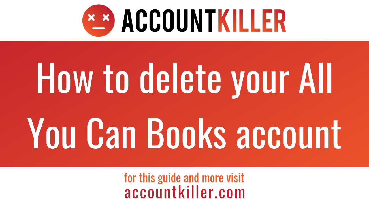 How to delete your All You Can Books account