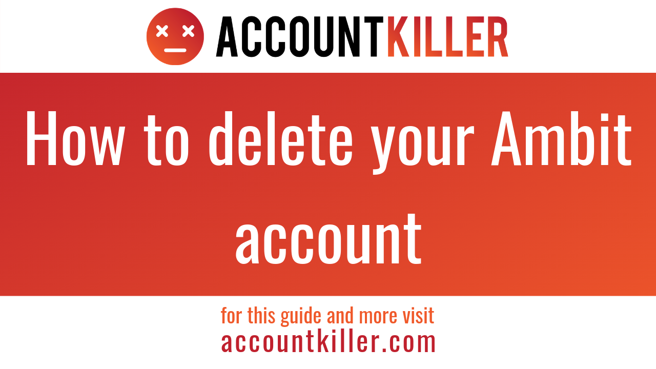How to cancel your Ambit account