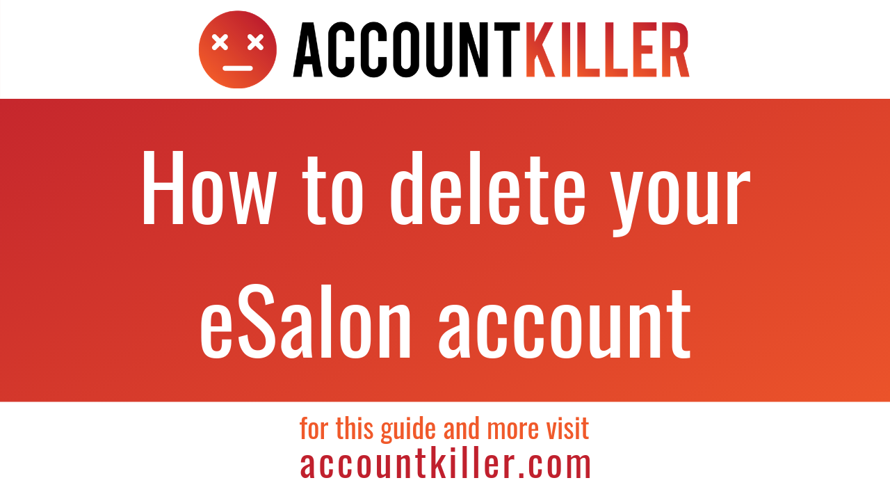 How to cancel your eSalon account