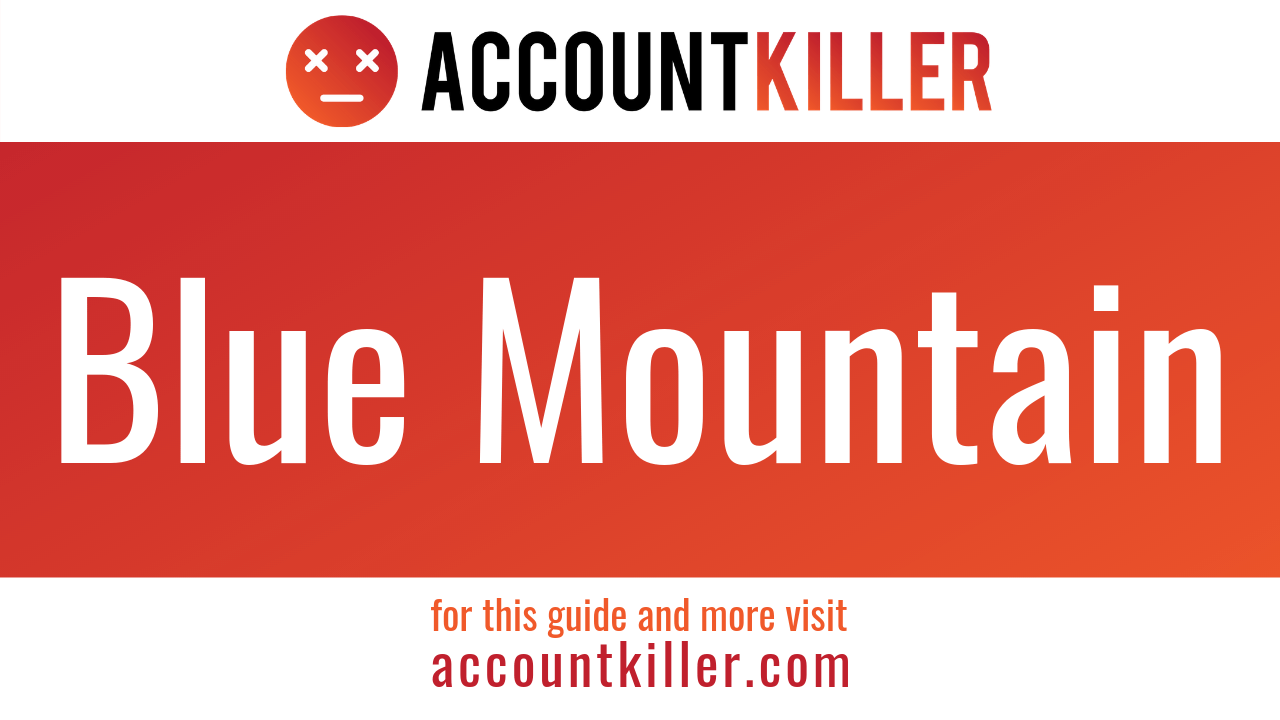 How to cancel your Blue Mountain account