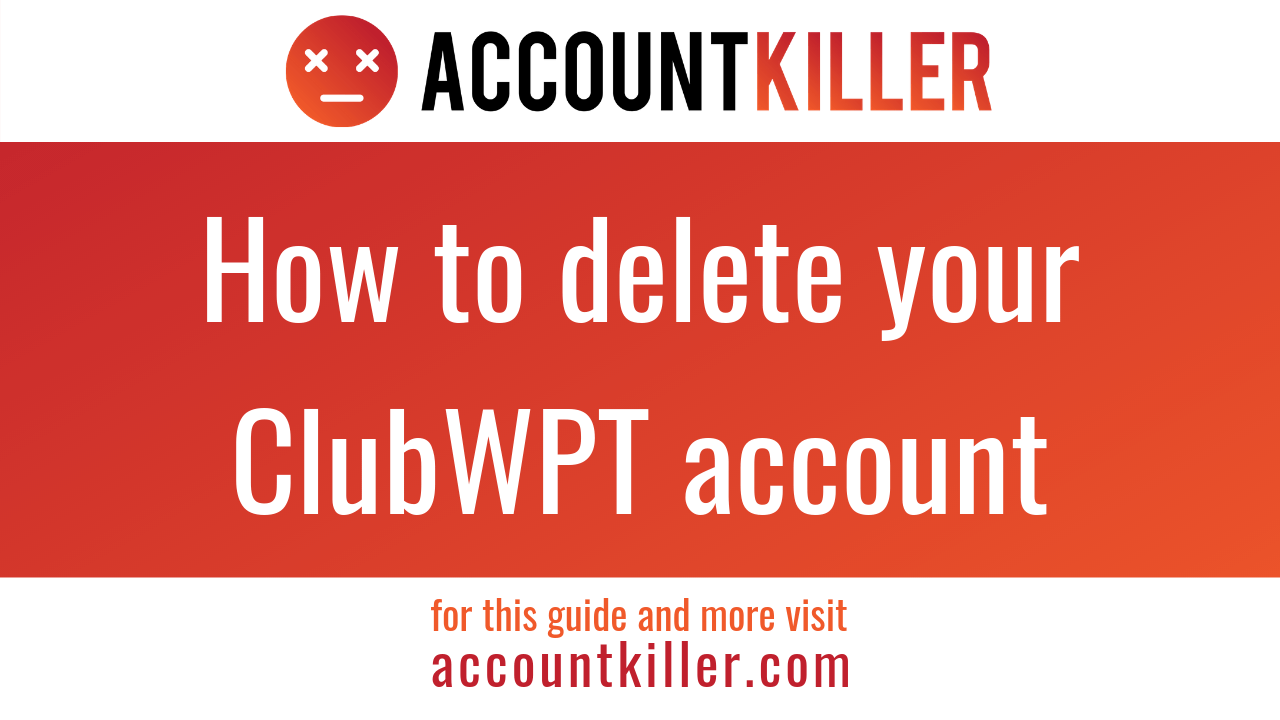 How to cancel your ClubWPT account