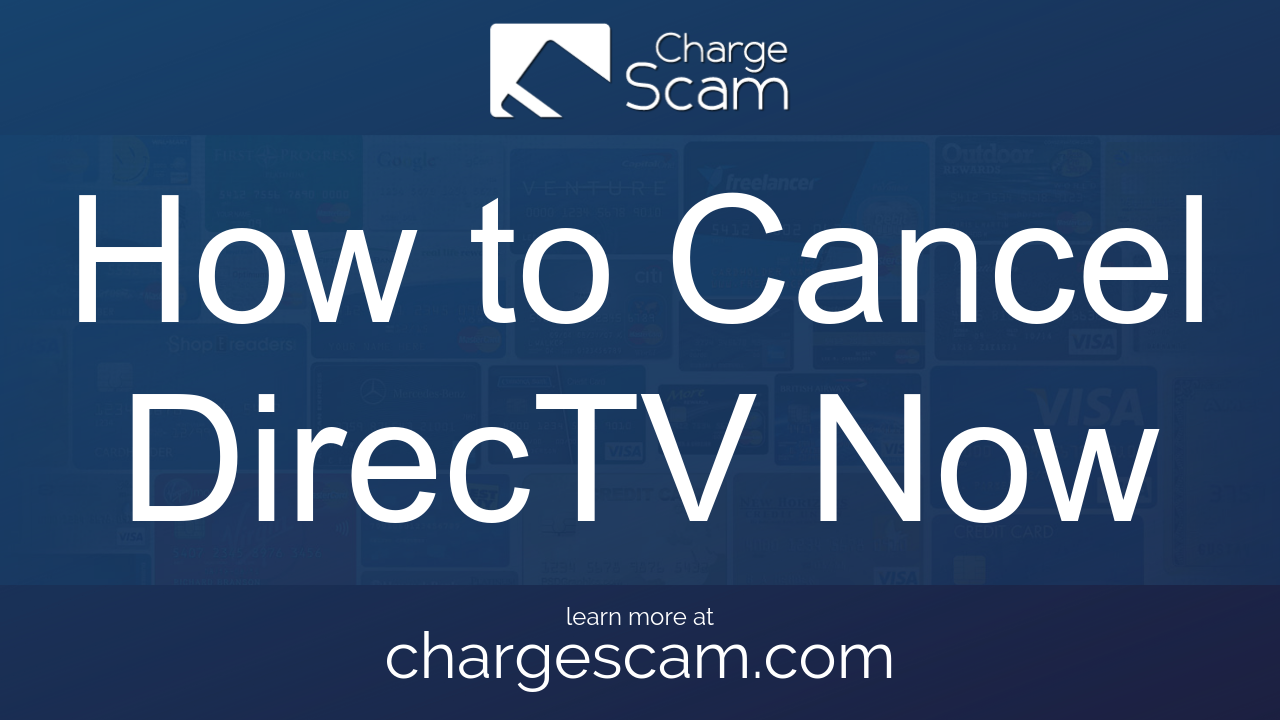 How to Cancel DirecTV Now