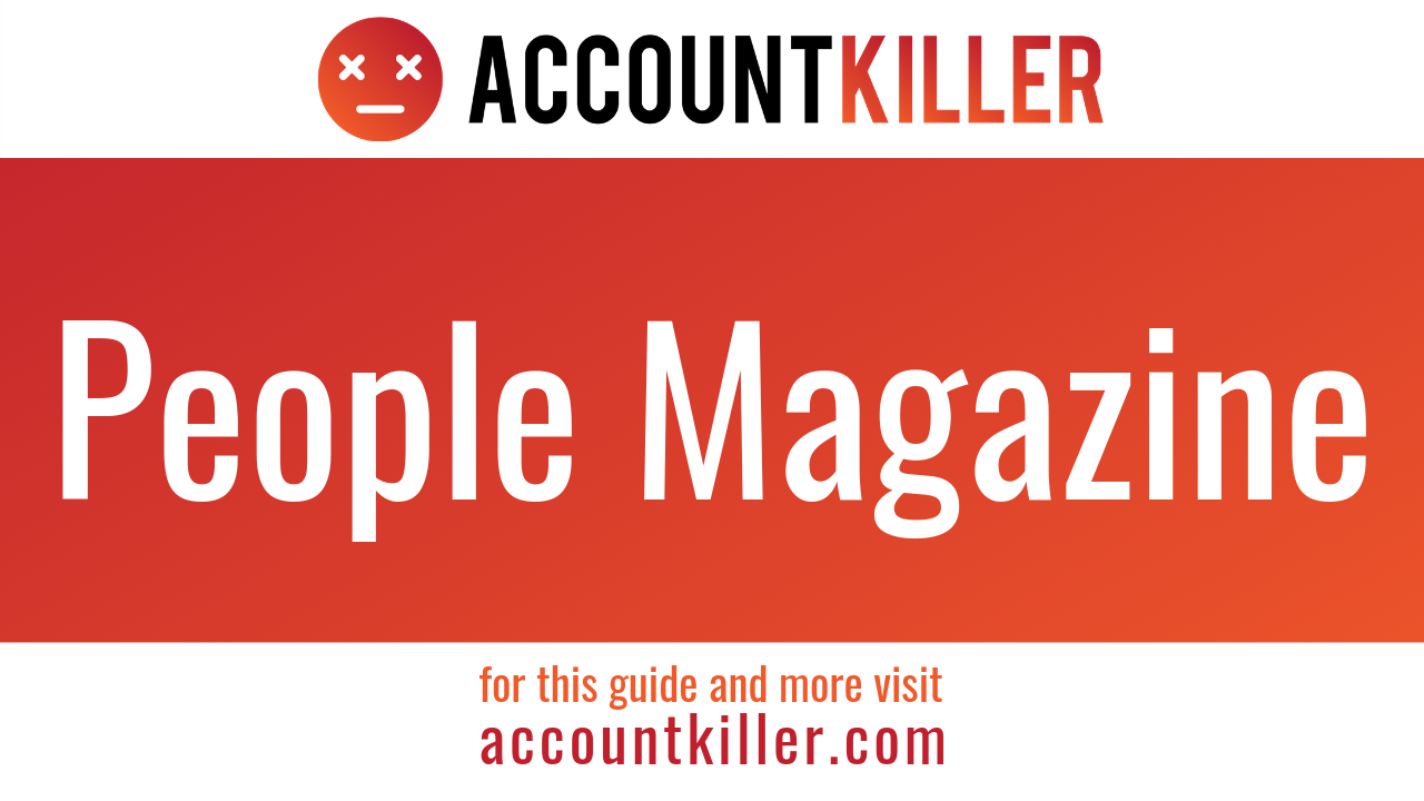 How to cancel your People Magazine account