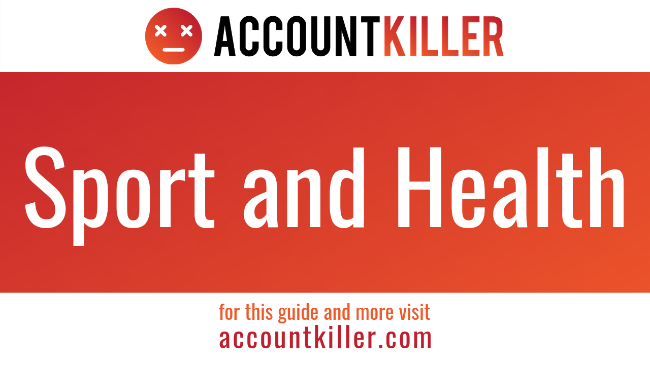 How to cancel your Sport and Health account