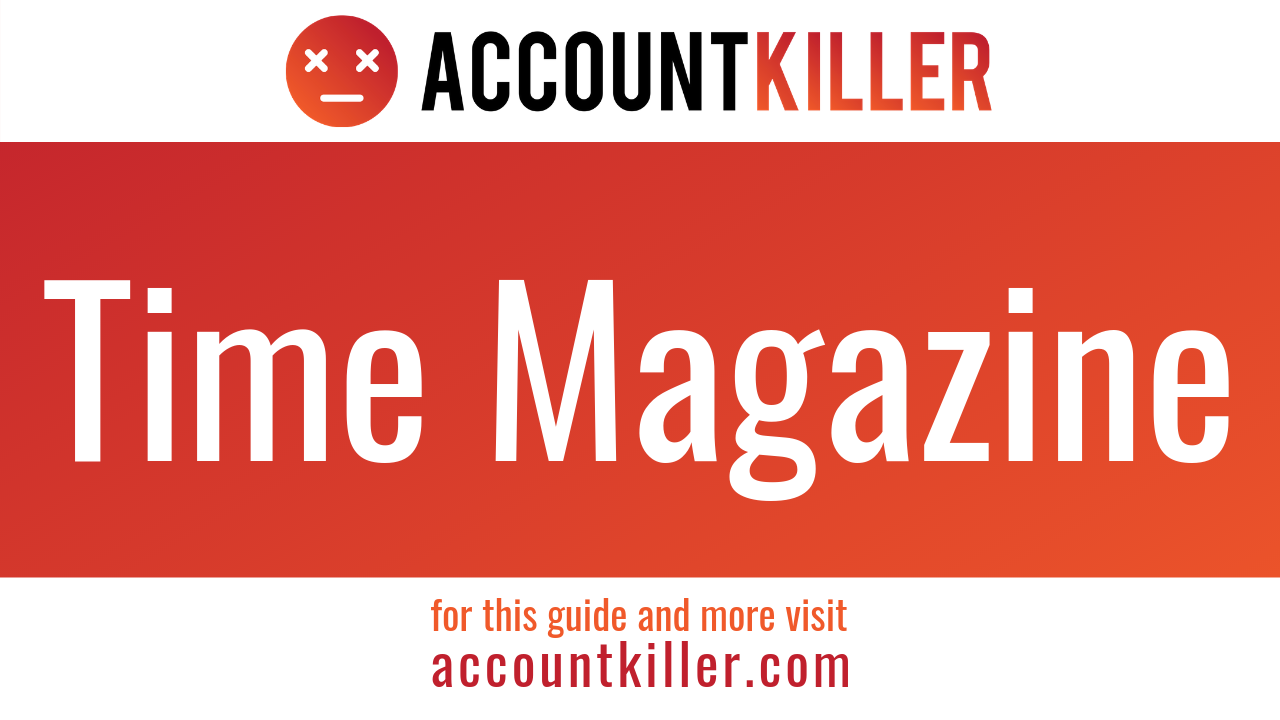 How to cancel your Time Magazine account
