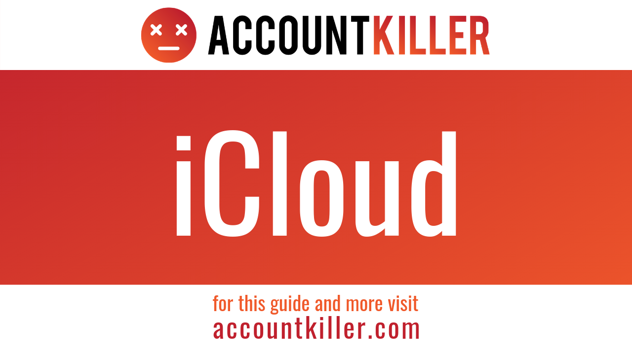 How to cancel your iCloud account