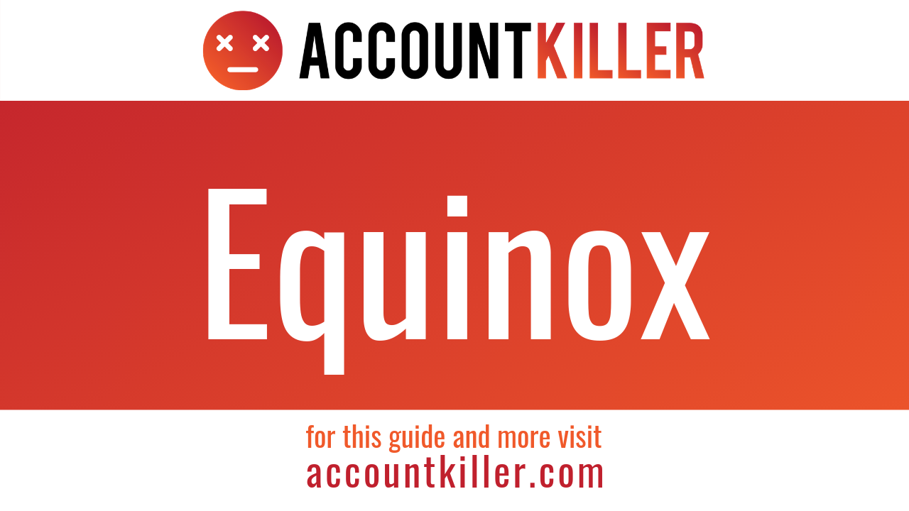 How to cancel your Equinox account