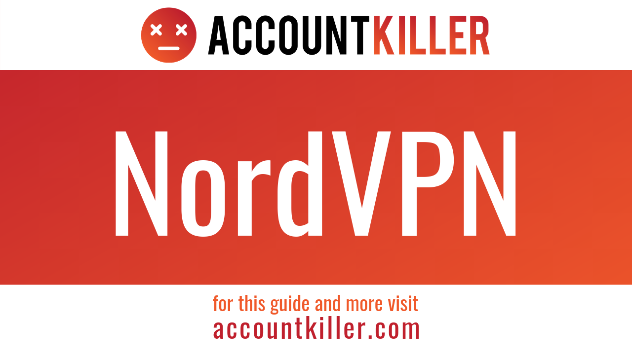 How to cancel your NordVPN account