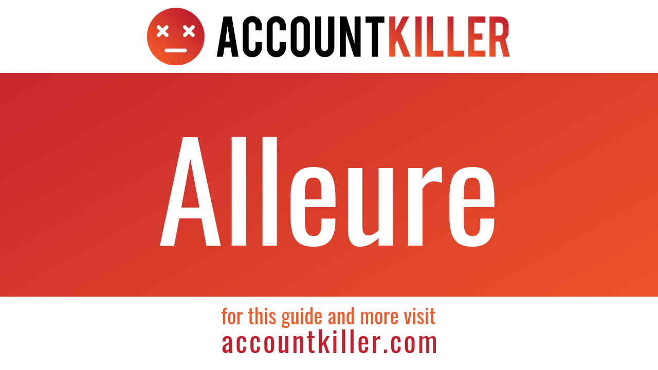 How to cancel your Alleure account