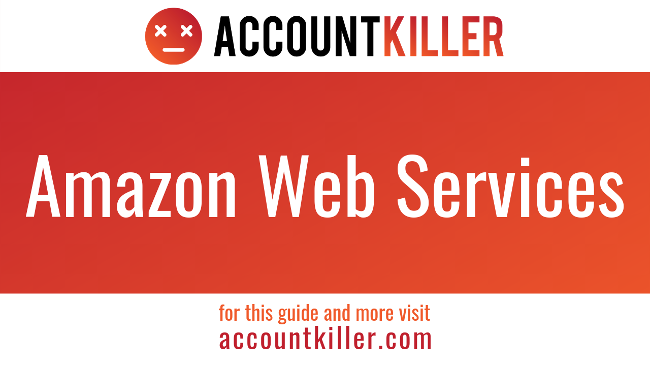 How to cancel your Amazon Web Services account