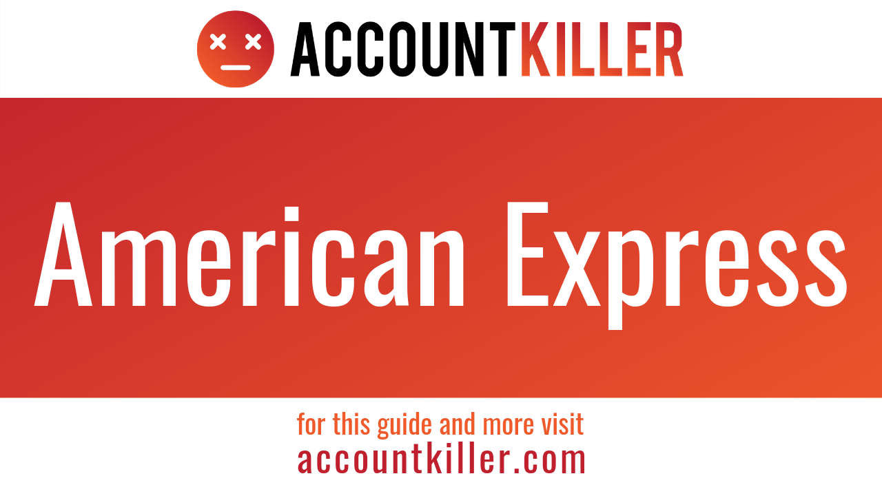 How to cancel your American Express account