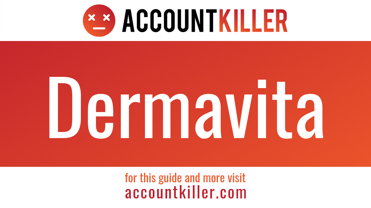 How to cancel your Dermavita account