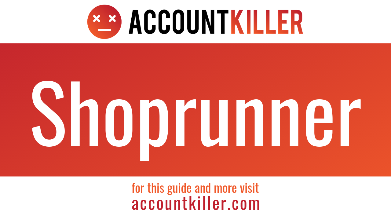 How to cancel your Shoprunner account
